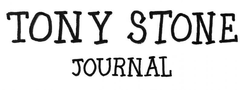 Tony Stone Journal